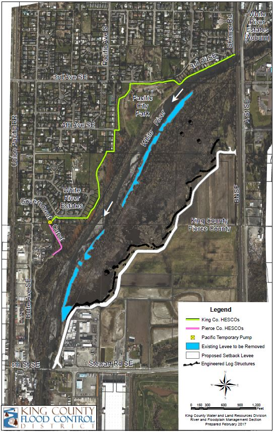 White River Countyline project map