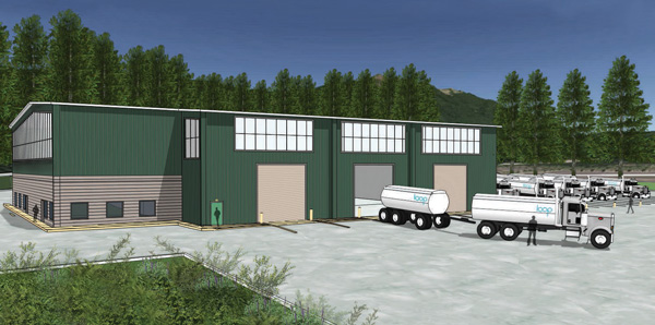 Rendering of the Loop Vehicle Maintenance Facility