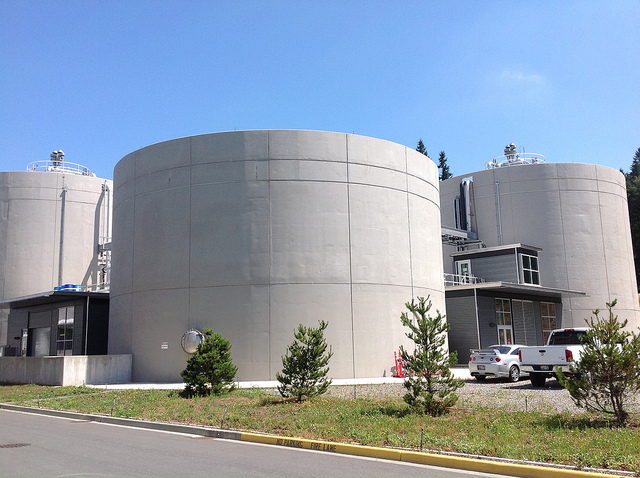 Digester—solids biological treatment