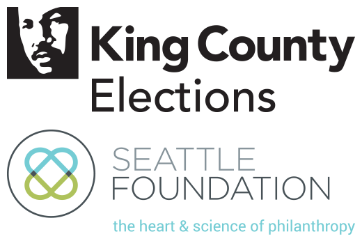 King County Elections and Seattle Foundation Logos
