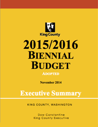 ADOPTED 2015/2016 Biennial Budget Executive Summary