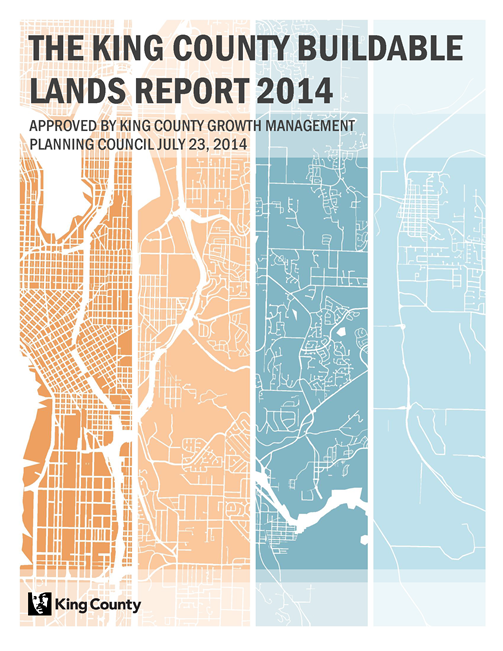 The King County Buildable Lands Report 2014
