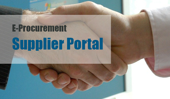 Register in the new Supplier Portal.