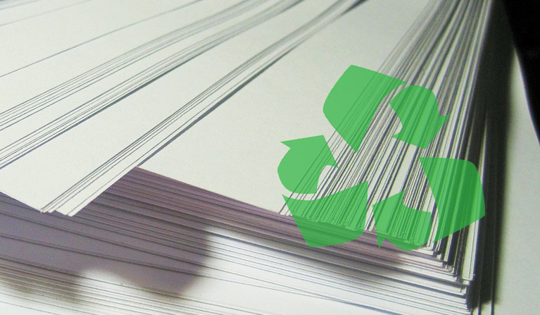 100% Recycled Paper