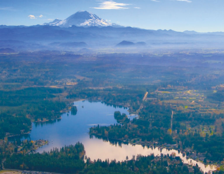 Mt. Rainier and the Green/Duwamish Watershed