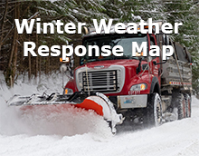 Winter Weather Response Map.