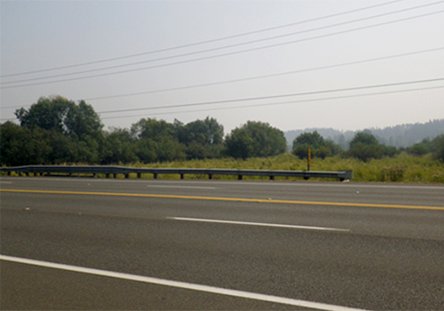 Photo of the S 277th Street Bridge, view from S 277th Street.