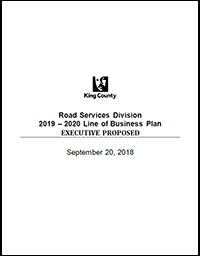 Road Services Division 2019-2020 Line of Business Plan