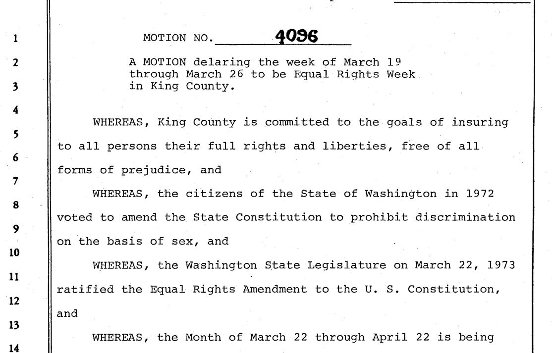 A history of the king county womens program king county series 306 king county council motions solutioingenieria Images