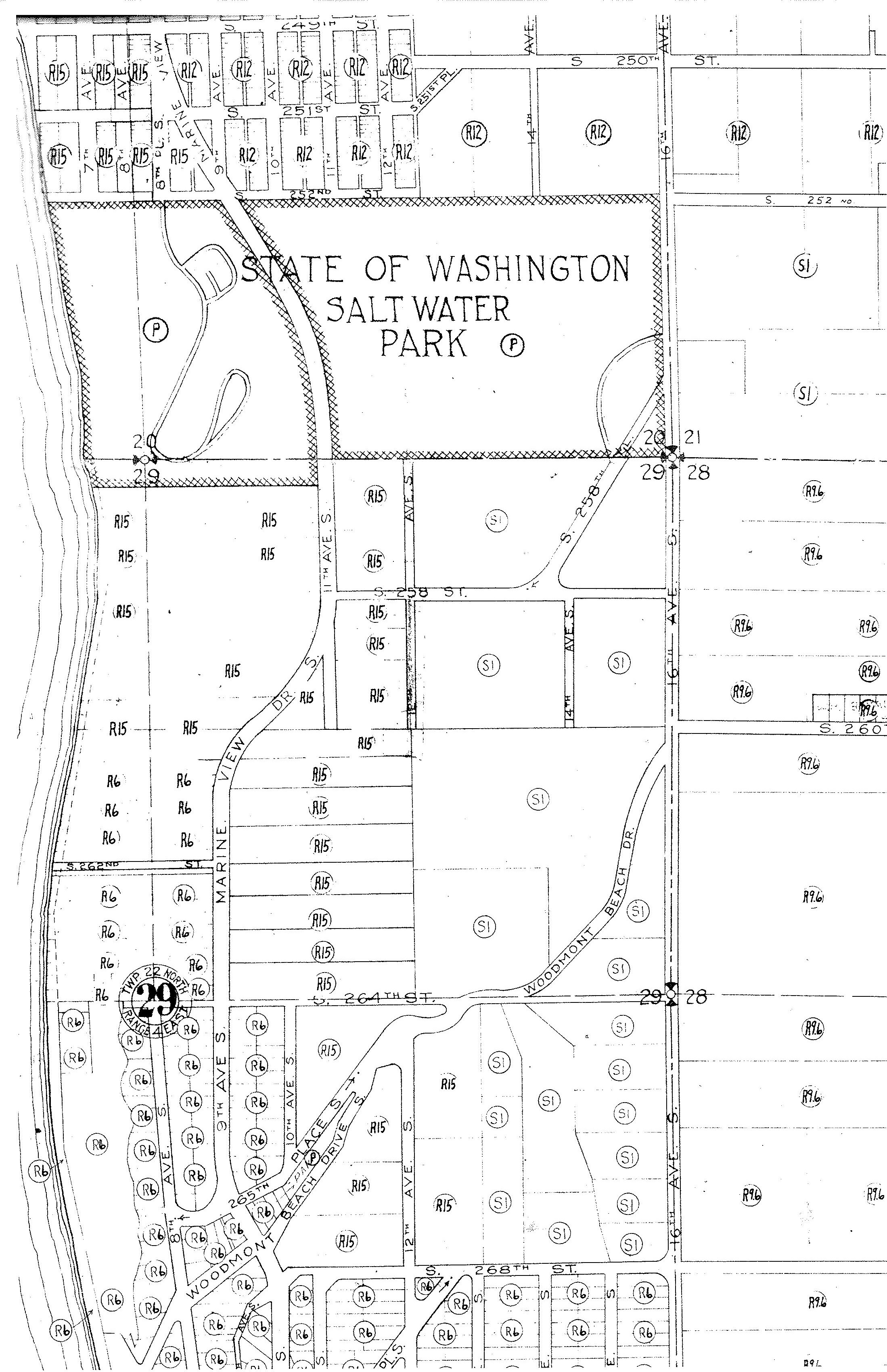 Historical Zoning Records Of King County King County