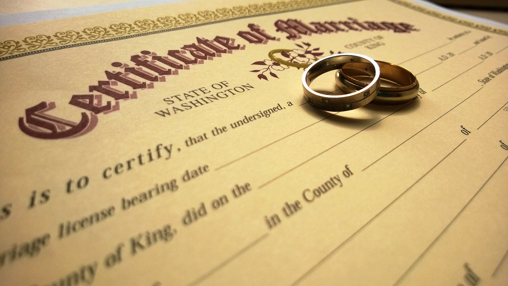 Marriage licensing - King County