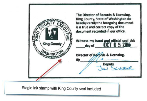 Request a copy - King County