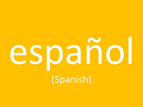 language-spanish