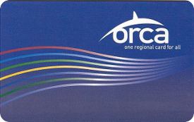 Image of an ORCA card.