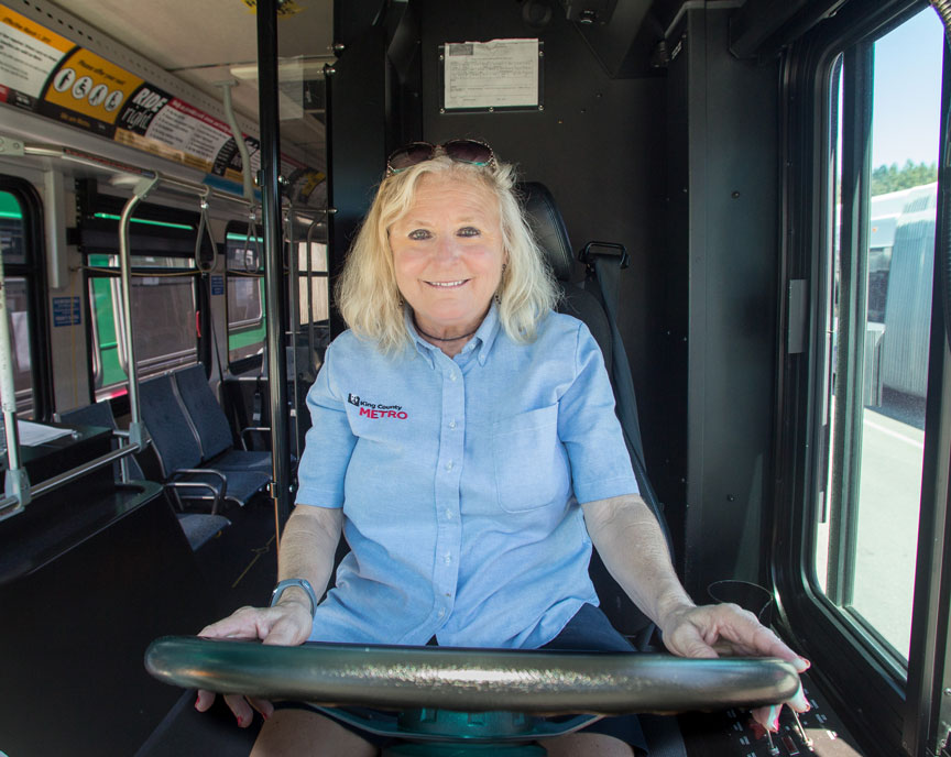 Metro Names Vicki Leslie Operator Of The Year King County