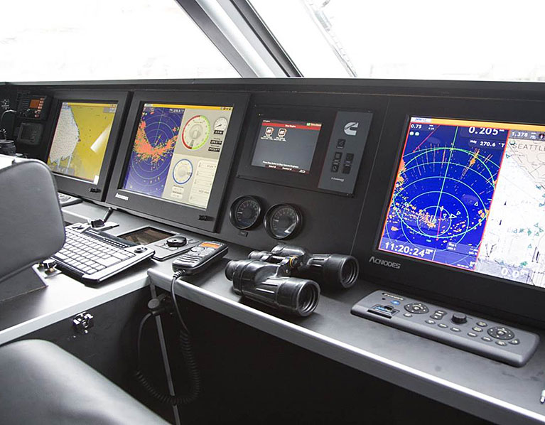 photo: vessel dashboard