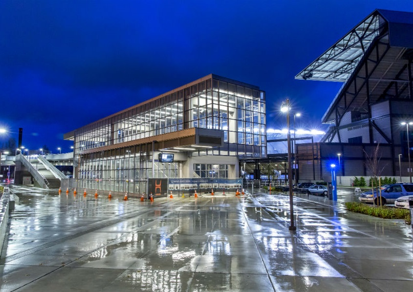 Sound Transit opened three new light rail stations in 2016.