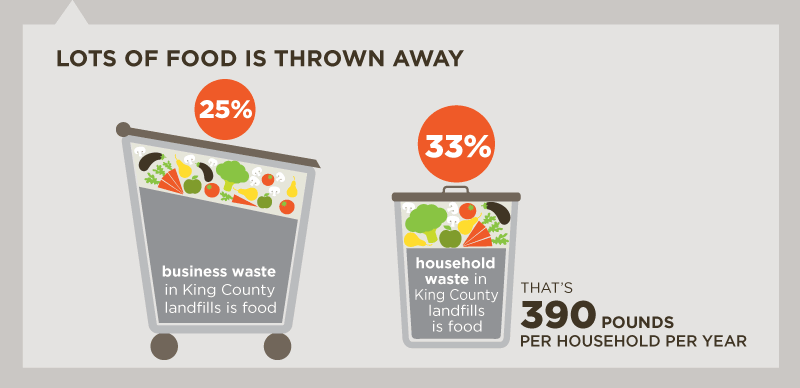 Lots Of Food Is Thrown Away