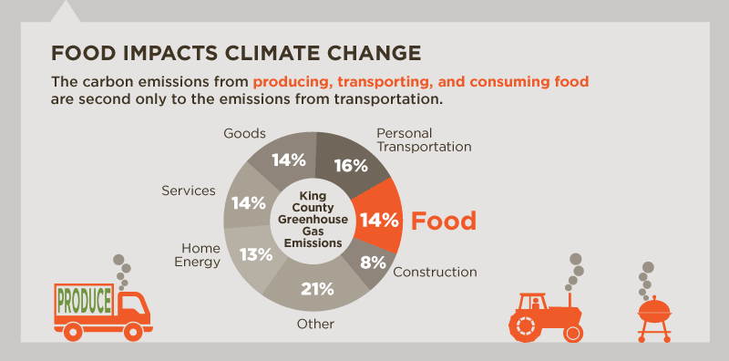 Food Impacts Climate Change
