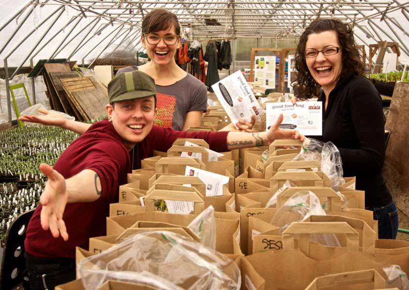 Good Food Bags – Delivering locally grown produce to families in need