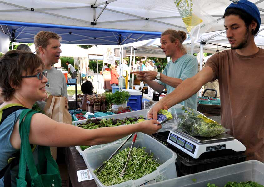 Expanding Fresh Bucks into farmers markets in King County