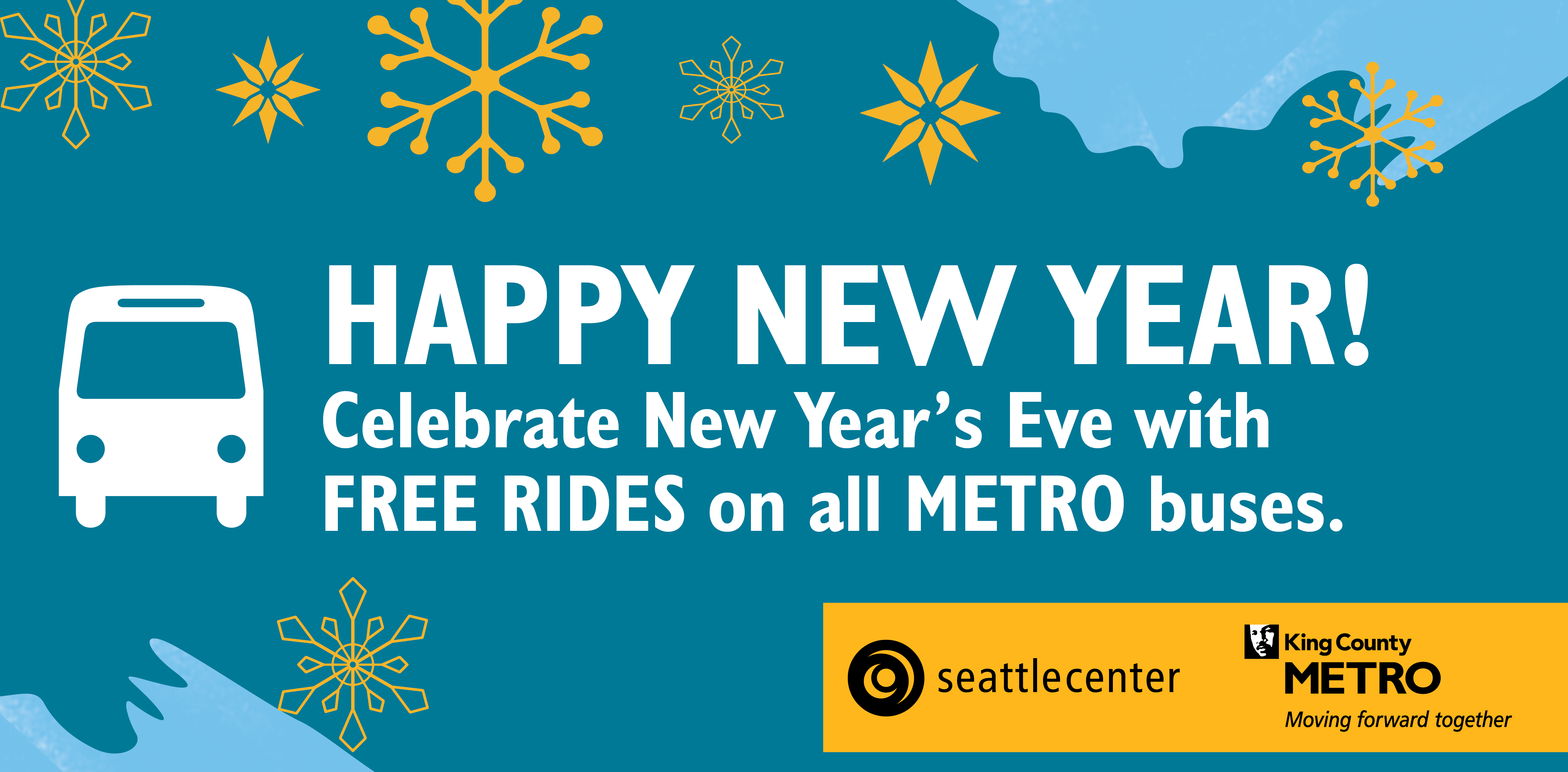 Celebrate New Year's Eve with free rides on King County