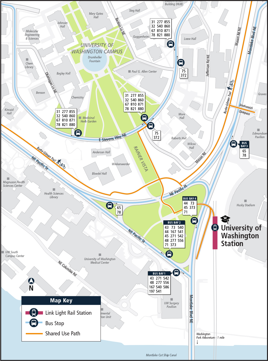 UW Link Changes - Sound Transit