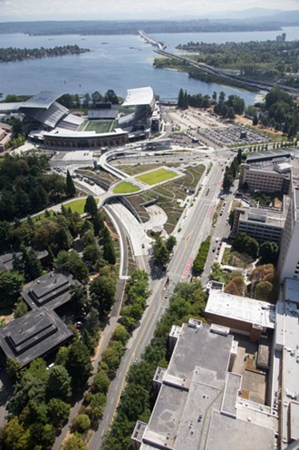 Husky Stadium and the UW Campus - King County