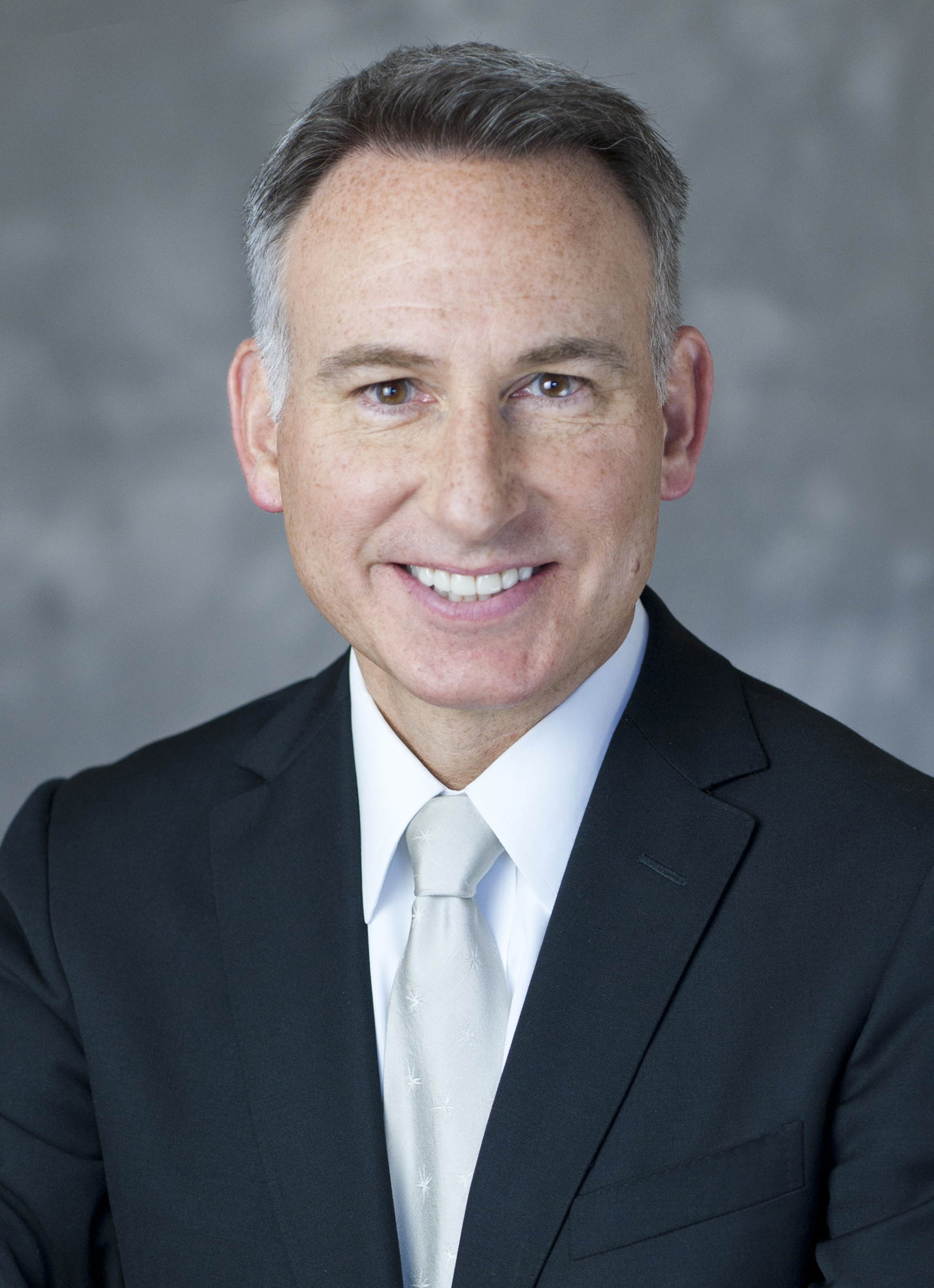 A portrait of King County Executive Dow Constantine
