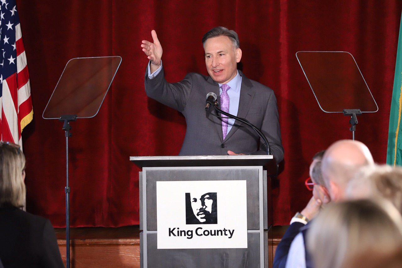 "King County Executive Dow Constantine gives his 2019 ""State of the County"" speech."