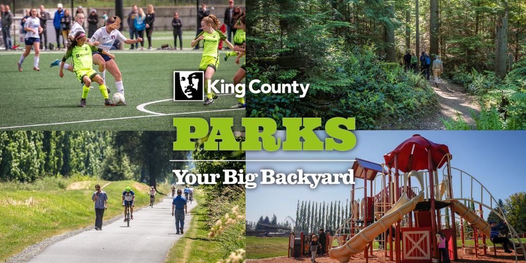 A photo montage of King County parks