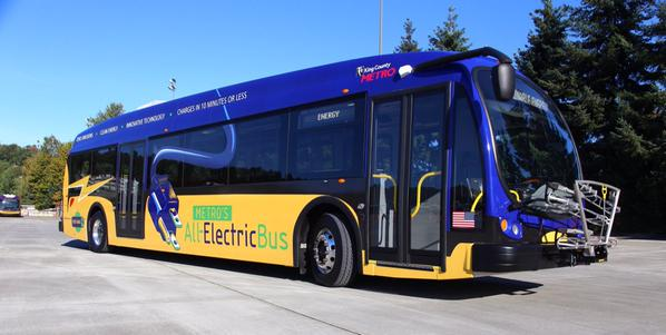 Prototype electric bus - King County