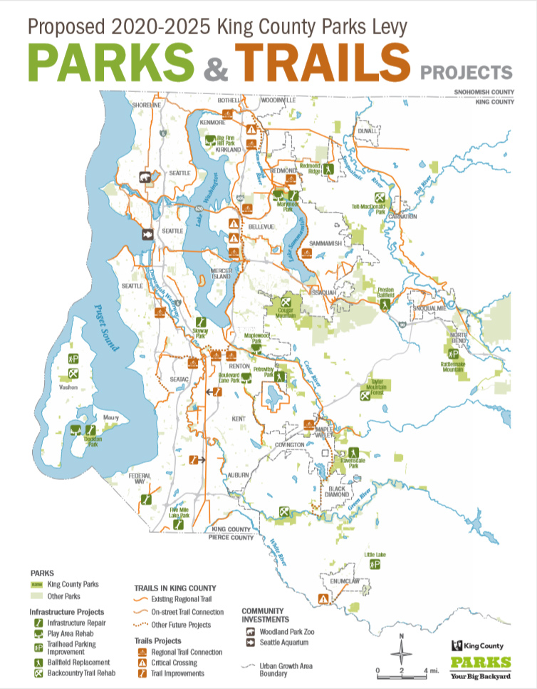 A thumbnail image of map showing where the parks investments could be.