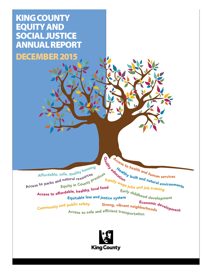 2015 Equity and Social Justice Annual Report
