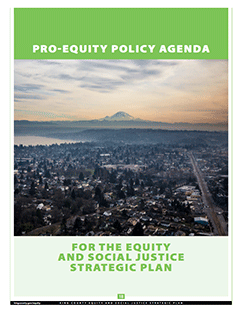 Pro-Equity Policy Agenda and Regional Equity Collaborative