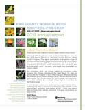 2014 Annual Report of the King County Noxious Weed Board - click to download file