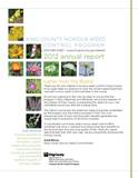 2012 King County Noxious Weed Board Annual Report - click to download