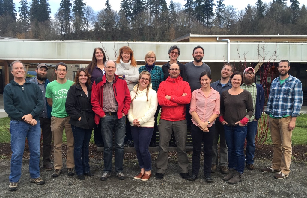 King County Noxious Weed Control Program Staff - click for larger image