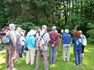 Holly symposium at St Edward State Park in 2014