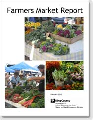 Farmers Market Report cover - February 2010