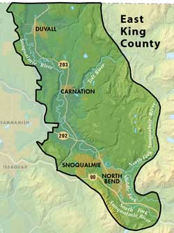 East King County Groundwater Management Area Map