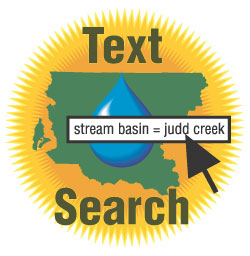 Search King County's groundwater database by keyword