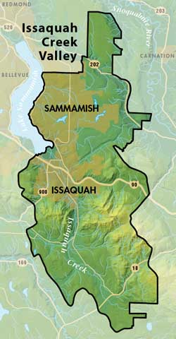Issaquah Creek Valley Groundwater Management Area Map