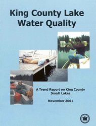 King County Lake Water Quality Cover