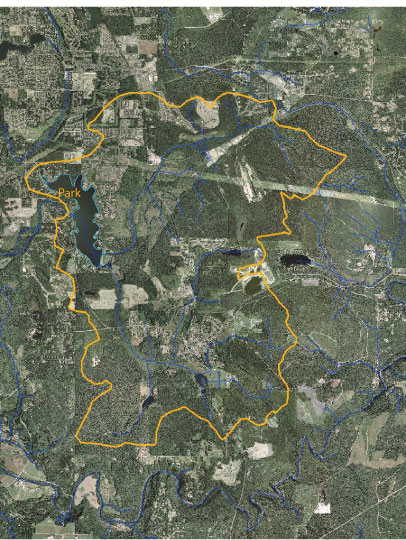 Lake Sawyer Watershed - Black Diamond area