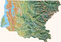 Map of Watersheds
