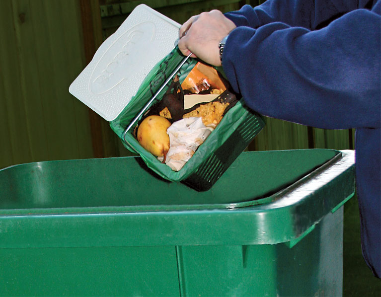 Composting food scraps is easy
