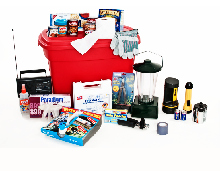 Get prepared for emergencies by making a disaster kit