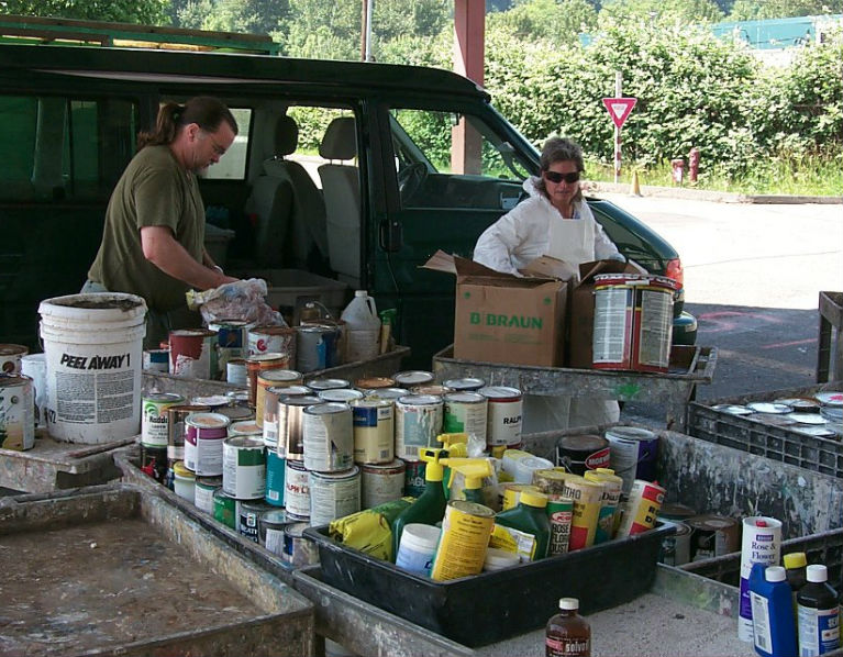 Wastemobile has collected 32 million pounds of household hazardous waste since 1989.
