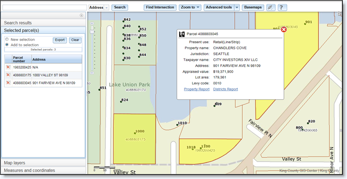 King County Parcel Viewer: Los Angeles County Assessor Parcel Map At Infoasik.co
